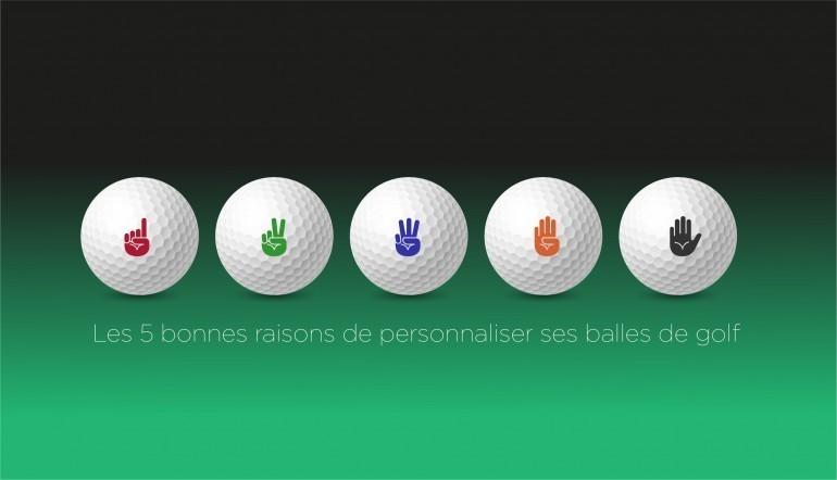5 bonnes raisons de personnaliser ses balles de golf