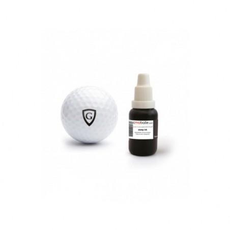 Encre waterproof pour tampon personnalisable de balle de golf