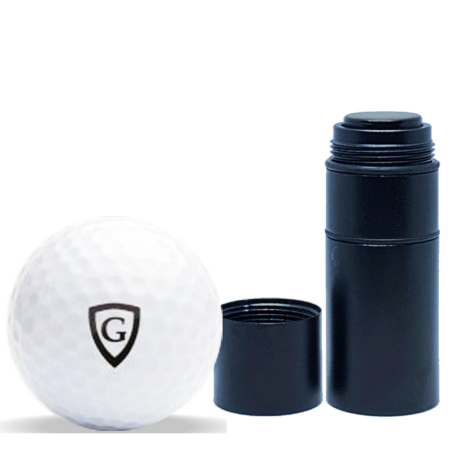 Tampon pour personnaliser ses balles de golfs CMB BLACK 12 MM