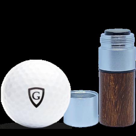 Marqueur personnalisable CMB rosewood 12 mm pour balle de golf