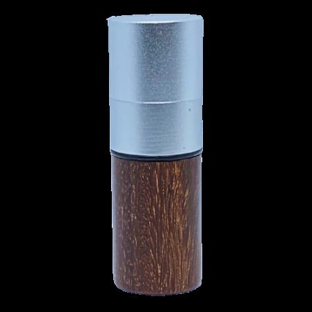 Marqueur personnalisable CMB rosewood 12 mm pour balle de golf de face