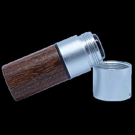 Marqueur personnalisable CMB rosewood 12 mm pour balle de golf de coté