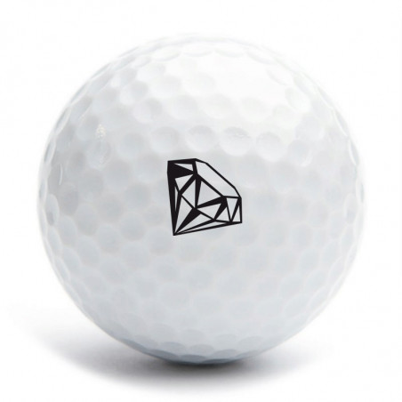 Tampon diamant pour balle de golf
