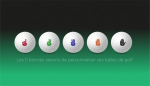 5 good reasons to customise your golf balls